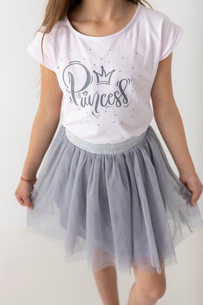 Bogato zdobione t shirty dla dziewczynek