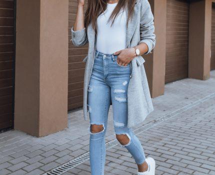 Najbardziej uniwersalne spodnie damskie jeansowe